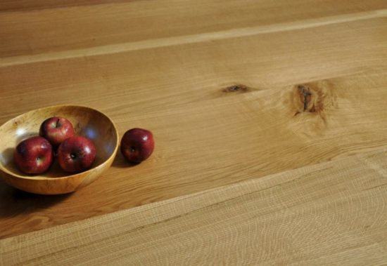 Wide plank character Rift and Quartered White Oak